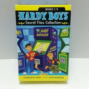 Other - Hardy Boys 1-5 Secret Files Book Collection